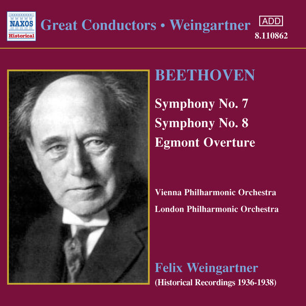 London Philharmonic Orchestra - BEETHOVEN: Symphonies Nos. 7 and 8 (Weingartner) (1936)