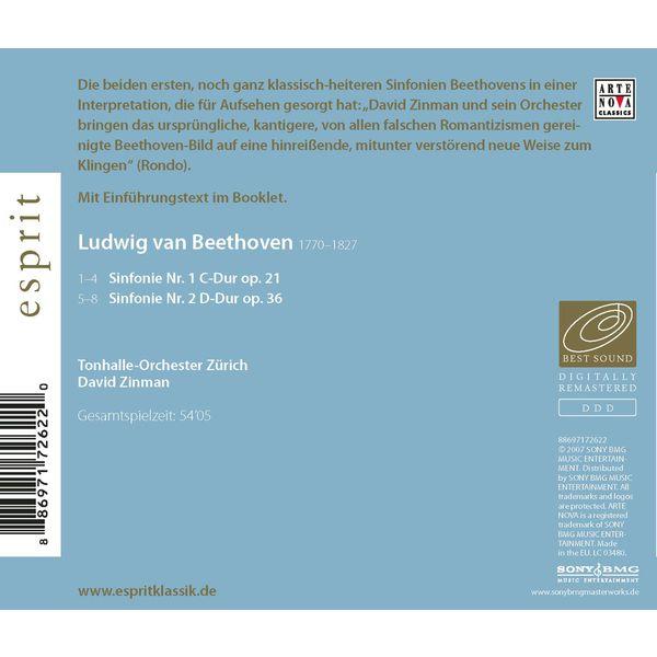 David Zinman - Beethoven: Sinfonie Nr. 1 & 2