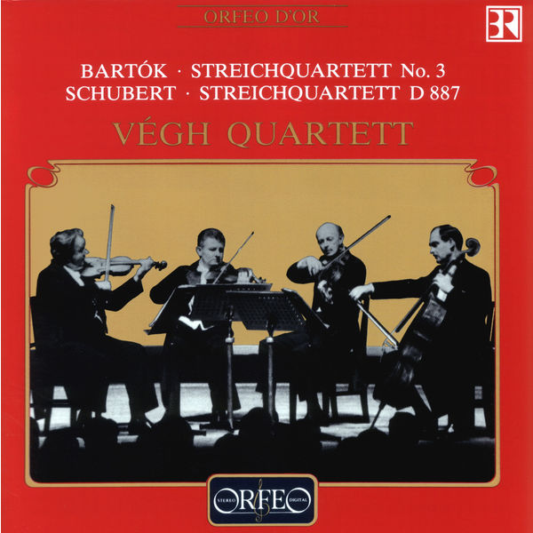 Végh Quartet - Bartók & Schubert: String Quartets