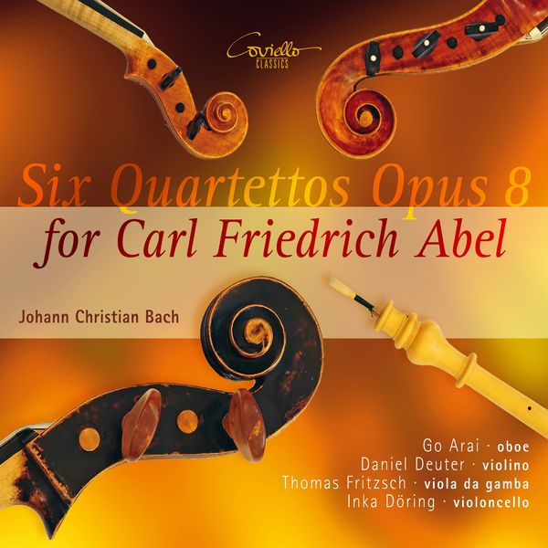 Thomas Fritzsch - Johann Christian Bach: Six quartettos for C. F. Abel