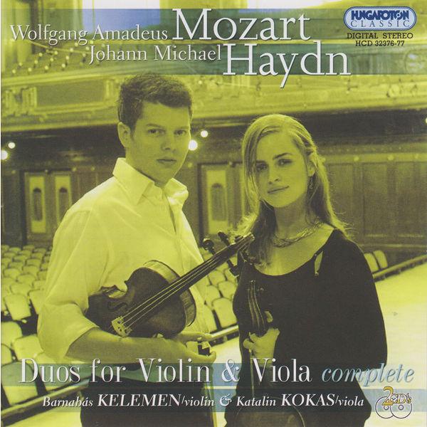 Barnabás Kelemen - Haydn, M. / Mozart: Duos for Violin and Viola