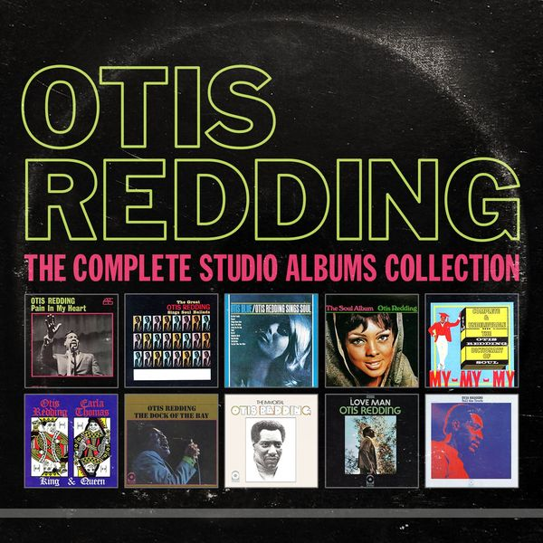 Otis Redding - The Complete Studio Albums Collection (10 CD)