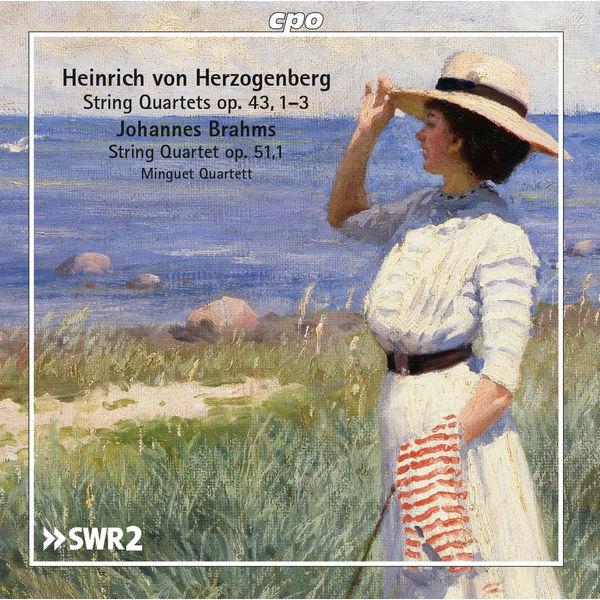 Minguet Quartett - Herzogenberg & Brahms: String Quartets