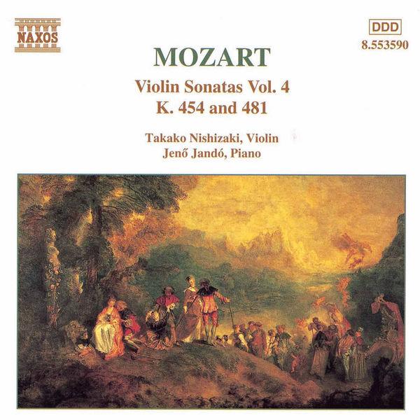 Takako Nishizaki - Violin Sonatas, Vol. 4