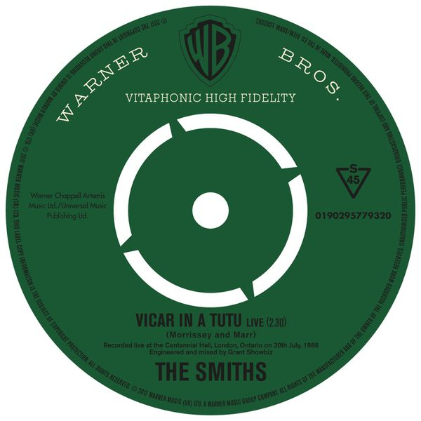 The Smiths - Vicar In a Tutu (Live)