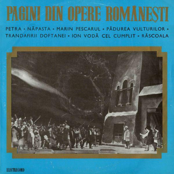 Elena Dima - Pagini din opere românești, Vol. 1