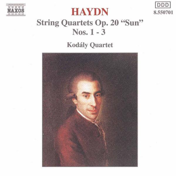 Kodaly Quartet - HAYDN: String Quartets Op. 20, Nos. 1- 3, 'Sun Quartets'