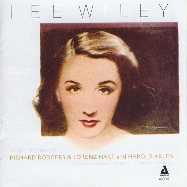 Lee Wiley - Lee Wiley Sings the Songs of Rodgers & Hart and Arlen