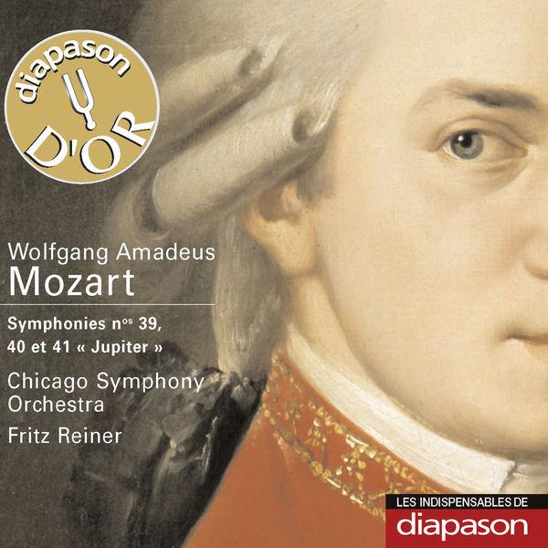 Fritz Reiner - Mozart : Symphonies Nos. 39, 40 & 41(Diapason n°556)