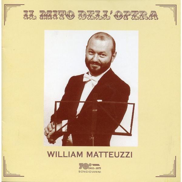 William Matteuzzi|Il mito dell'opera: William Matteuzzi (1980-1999) (William Matteuzzi)