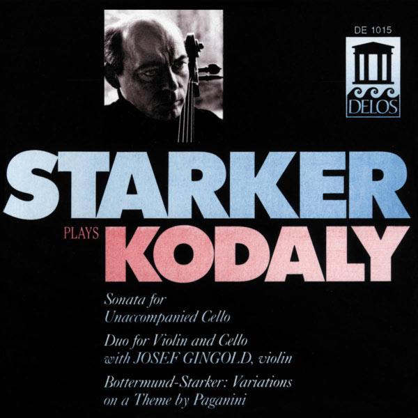 Janos Starker - Œuvres pour violoncelle