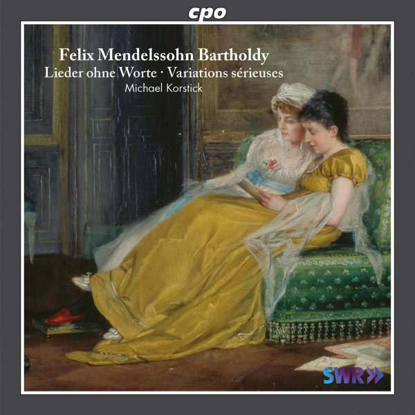 Michael Korstick - Mendelssohn: Lieder ohne Worte - Variations sérieuses