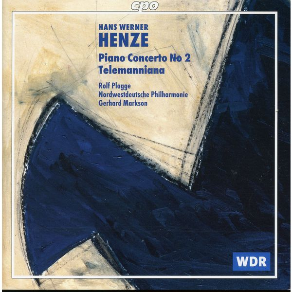Rolf Plagge - Henze: Piano Concerto No. 2 - Telemanniana