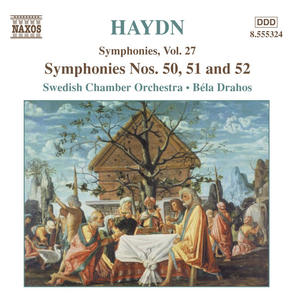 Svenska Kammarorkestern - Haydn: Symphonies, Vol. 27 (Nos. 50, 51, 52)