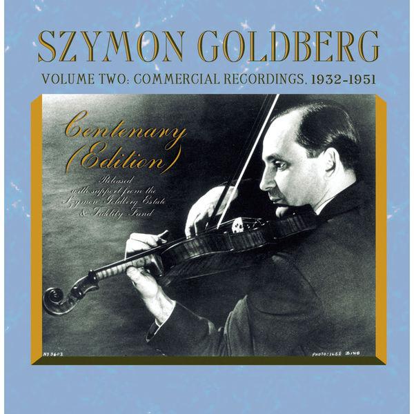 Szymon Goldberg - Szymon Goldberg Edition, Vol. 2: Commercial Recordings (1932-1951)