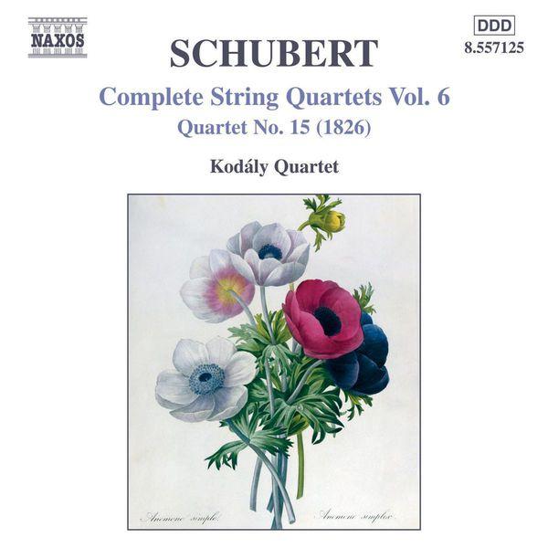 Kodaly Quartet - SCHUBERT: String Quartets (Complete), Vol. 6