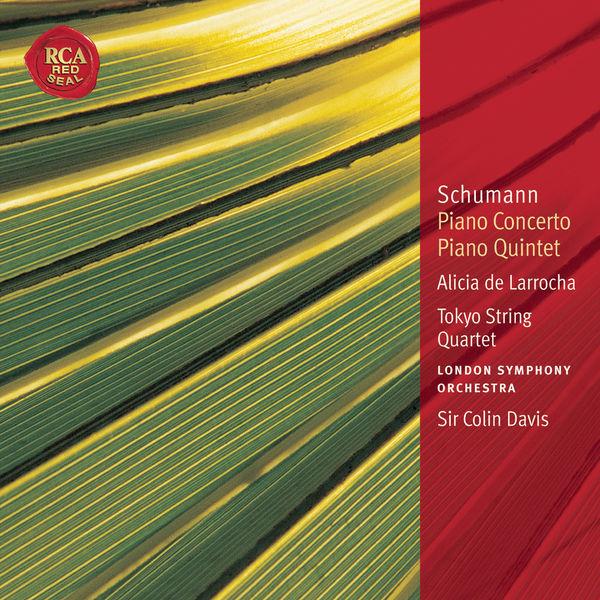 Alicia de Larrocha|Schumann: Piano Concerto & Piano Quintet: Classic Library Series