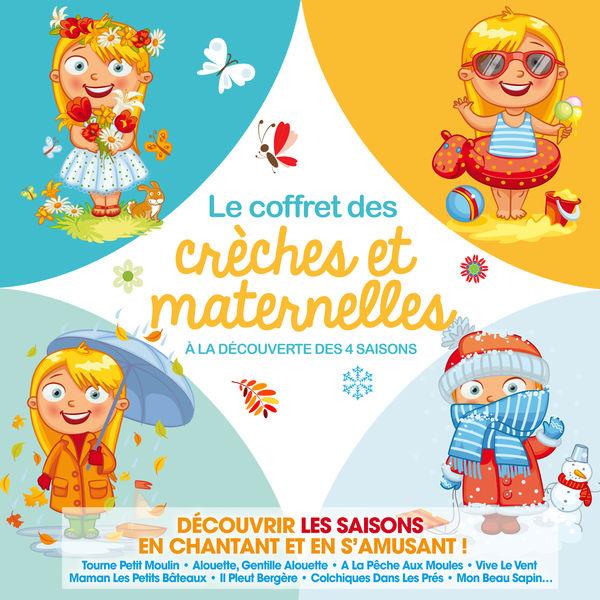 Various Artists - Le Coffret des Crèches & Maternelles - A la découverte des 4 Saisons