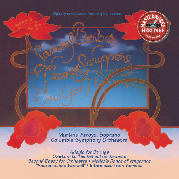 Columbia Symphony Orchestra, New York Philharmonic, Thomas Schippers - Barber: Adagio & Pièces diverses