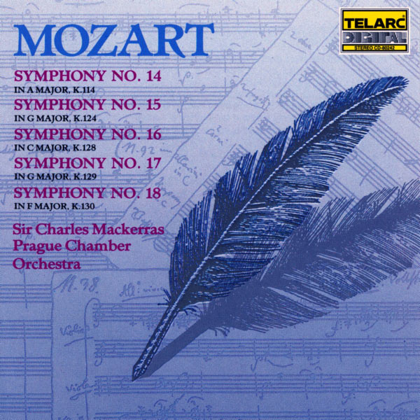 Charles Mackerras - Mozart: Symphonies No. 14, No. 15, No. 16, No. 17, No. 18