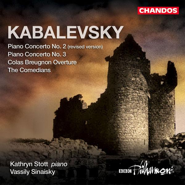"""Kathryn Stott - Concertos pour piano n° 2 & 3 - The Comedians - Ouverture de """"Colas Breugnon"""""""