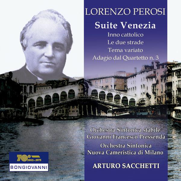 """Orchestra Sinfonica Nuova Cameristica di Milano - Perosi: Suite No. 2 """"Venezia"""""""