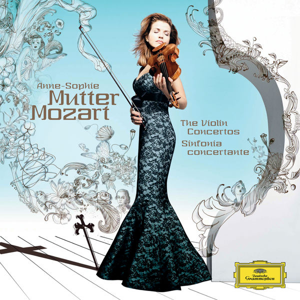 Anne-Sophie Mutter - Mozart, W.A.: Violin Concertos No.1 - 5; Sinfonia Concertante