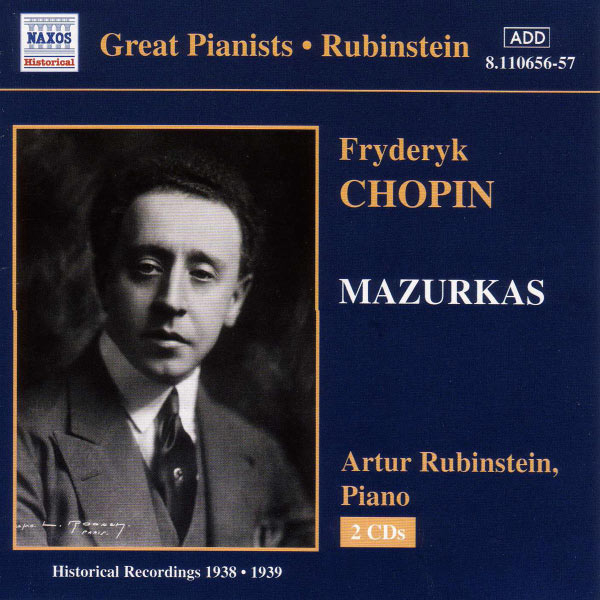 Arthur Rubinstein - Chopin : Mazurkas (1938-1939)