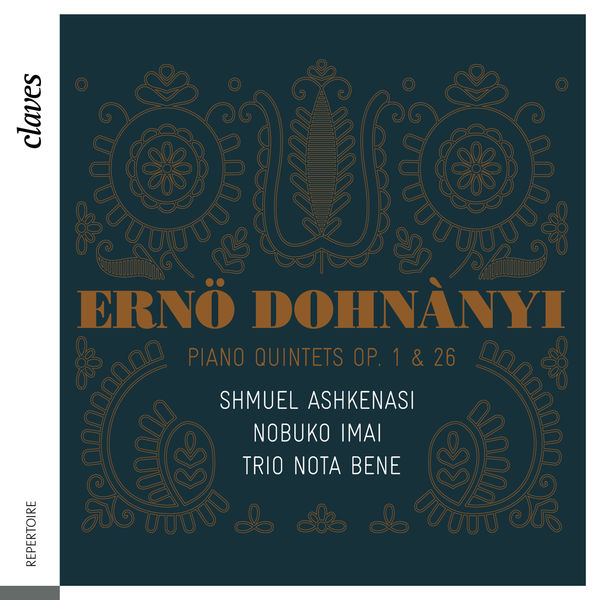 Ernő Dohnányi - Dohnányi: Piano Quintets Op. 1 & 26