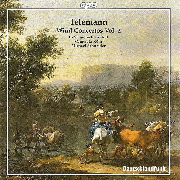 Stagione Frankfurt, La - TELEMANN, G.P.: Wind Concertos, Vol. 2 - TWV 51:f1, 51:G1, 52:C1, 52:D1, 53:d1 (La Stagione Frankfurt, Schneider)
