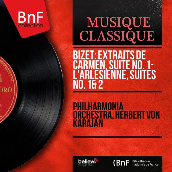 Philharmonia Orchestra - Bizet: Extraits de Carmen, suite No. 1 - L'Arlésienne, suites No. 1 & 2 (Stereo Version)