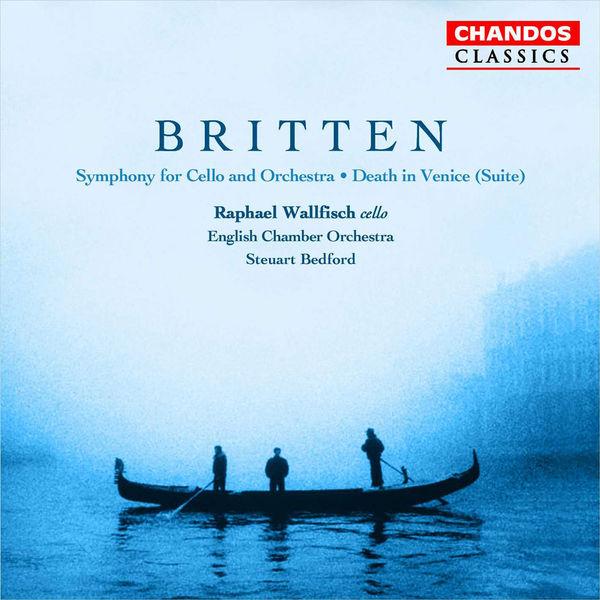 Raphael Wallfisch - Symphonie pour violoncelle et orchestre op. 68 & Death in Venice (suite) op. 88