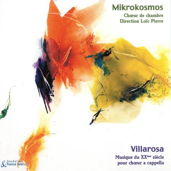 Choeur de chambre Mikrokosmos - Mikrokosmos, Chœur de Chambre (Villarosa, Musique du XXéme siècle pour chœur a capella)