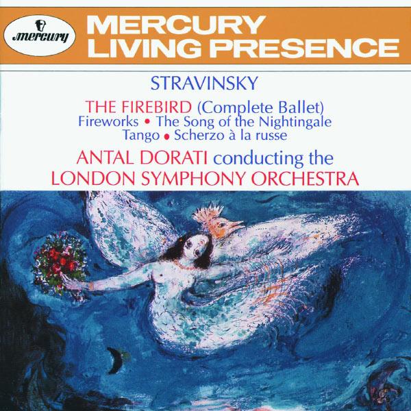 London Symphony Orchestra - Stravinsky: The Firebird; Fireworks; The Song of the Nightingale; Tango; Scherzo à la russe
