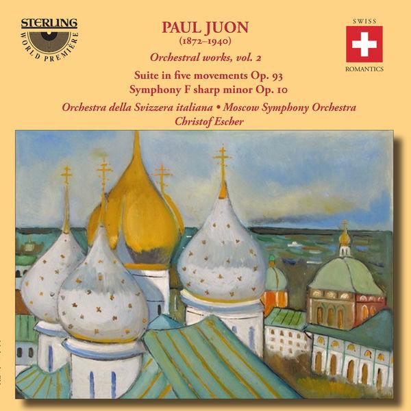Orchestra Della Svizzera Italiana - Juon: Orchestral Works, Vol. 2