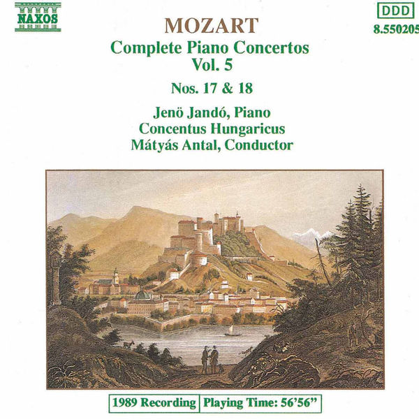 Jeno Jando - MOZART: Piano Concertos Nos. 17 and 18