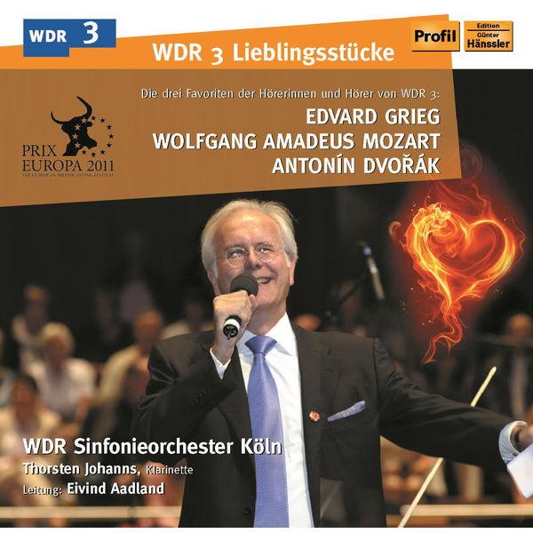WDR Sinfonieorchester Köln - Grieg: Peer Gynt-Suite Nr. 1 - Mozart: Klarinettenkonzert a-Dur - Dvořák: 9. Sinfonie