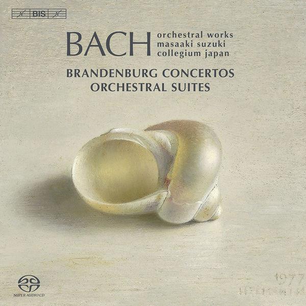 Masaaki Suzuki - BACH, J.S.: Brandenburg Concertos Nos. 1-6 / Orchestral Suites Nos. 1-4 (Bach Collegium Japan, Suzuki)