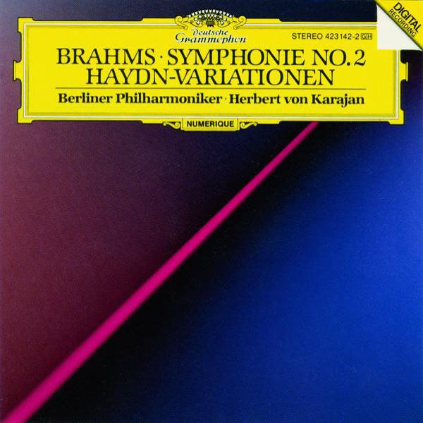 Berliner Philharmoniker - Brahms: Symphony No.2 In D Major, Op. 73; Variations On A Theme By Joseph Haydn, Op. 56a