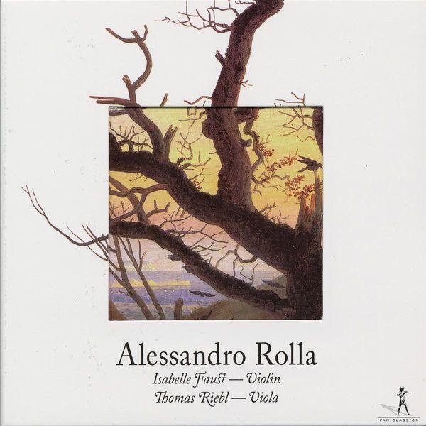 Isabelle Faust Duos pour violon et alto (Alessandro Rolla)