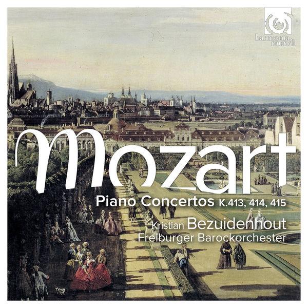 Kristian Bezuidenhout - Mozart : Piano Concertos, K.413, 414, 415