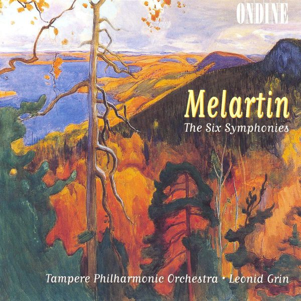 Tampere Philharmonic Orchestra - Melartin: Complete Symphonies, Nos. 1-6