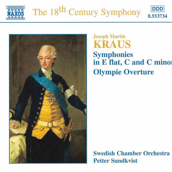 Svenska Kammarorkestern - KRAUS: Symphonies, Vol.  1