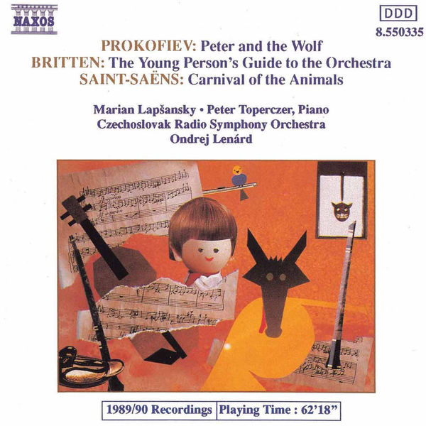 Slovak Radio Symphony Orchestra - Prokofiev: Peter and the Wolf / Britten: Young Person's Guide To Orchestra / Saint-Saens: Carnival