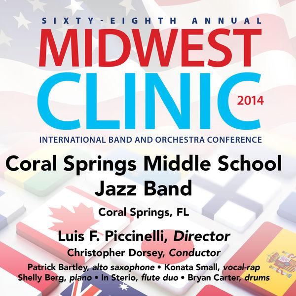 Bill Withers - 2014 Midwest Clinic: Coral Springs Middle School Jazz Band (Live)