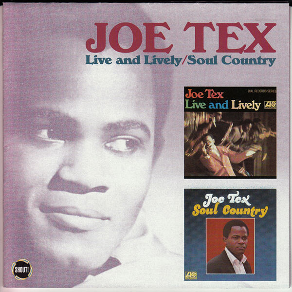 Joe Tex - Live and Lively/Soul Country
