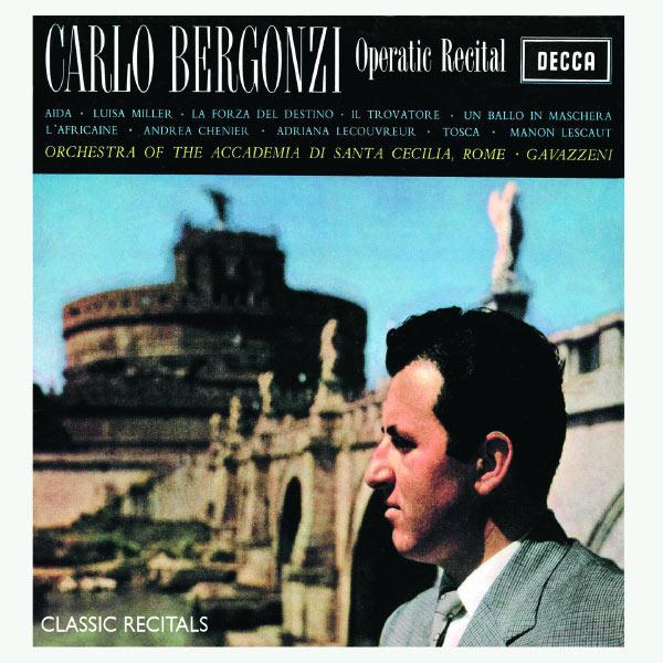 Carlo Bergonzi - Operatic Recital