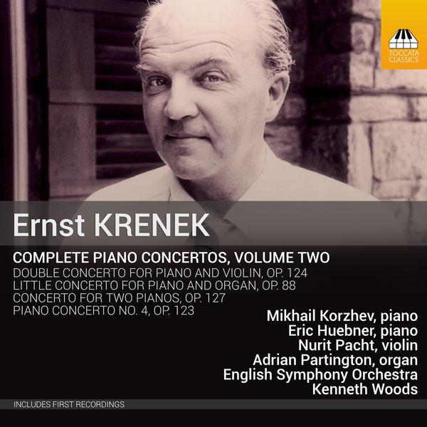 Mikhail Korzhev  - Krenek : Complete Piano Concertos, Vol. 2