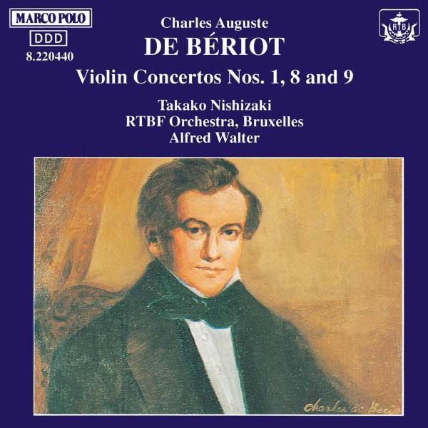 Takako Nishizaki - Beriot: Violin Concertos Nos. 1, 8 and 9