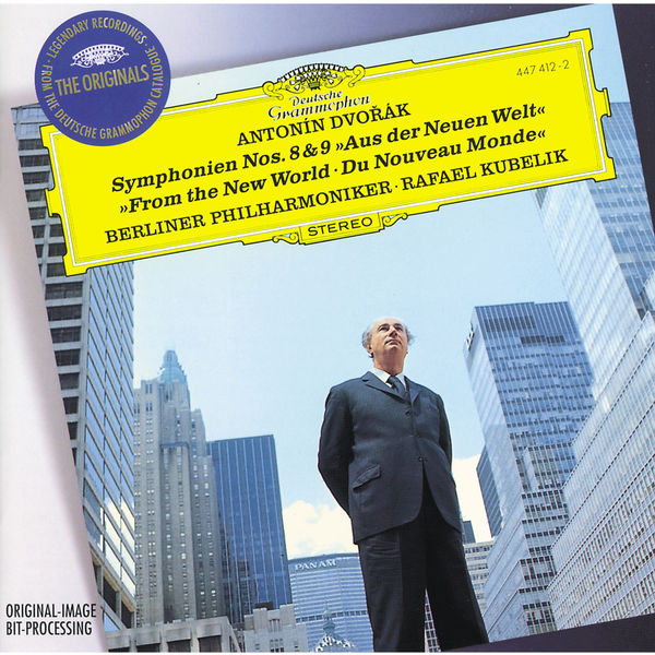 "Rafael Kubelik - Dvořák : Symphony Nos.8 & 9 ""From The New World"""